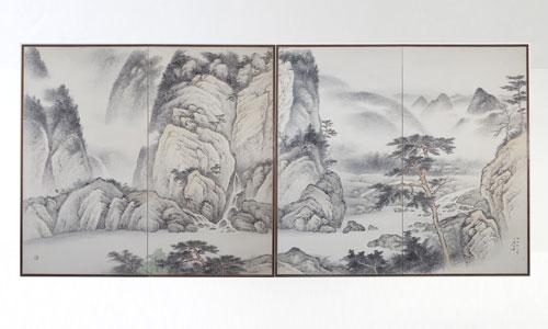 paraventi giapponesi - arte 900 giappone