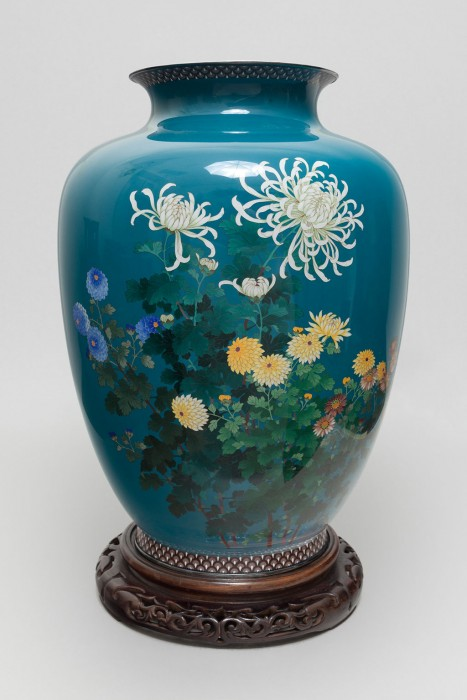 vaso blu lapislazzulo